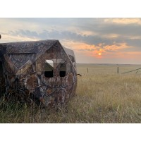 THUNDERBAY Hidden Threat - See Through Mesh Hunting Blind