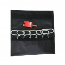 6 Piece Ice Anchor Kit with Adapter