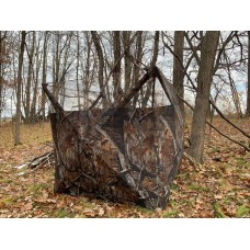 THUNDERBAY Portable Quick Setup Lightweight Camouflage Pop Up 3-Sided Ground Blind for Deer Turkey Hunting