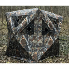 Rusk Camo Cabin - Three Man Hub Blind