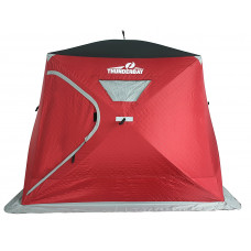 【Arrive In Sep】ThunderBay 4 Man Wide Bottom Insulated Ice Shelter